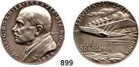 M E D A I L L E N,Luftfahrt - Raumfahrt Flugzeuge Silbermedaille 1929 (K. Goetz).  Auf die
