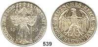 R E I C H S M Ü N Z E N,Weimarer Republik  5 Reichsmark 1929 E.  Meissen.