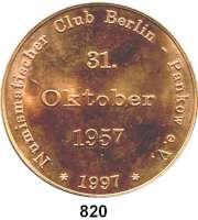 Deutsche Demokratische Republik,M E D A I L L E N Prägung der Münzstätte Berlin