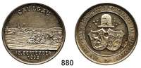 M E D A I L L E N,Städte Saulgau Versilberte Medaille 1899.  Anerkennung des württ. Landesvereins für Bienenzucht.  36 mm.  18,7 g.