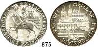 M E D A I L L E N,Städte Heiligenstadt Silbermedaille 1973.  1000 Jahre (Heilbad) Heiligenstadt.  Historisches Siegel. / Stil. Stadtansicht.  33,3 mm.  21,03 g.