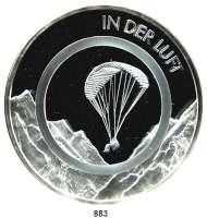 M E D A I L L E N,Luftfahrt - Raumfahrt  Silbermedaille 2019.  Silber-Polymer-Gedenkausgabe