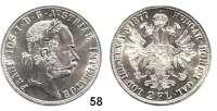 Österreich - Ungarn,Habsburg - Lothringen Franz Josef I. 1848 - 1916 Doppelgulden 1877, Wien.  Frühwald 1376.  Jl. 343.