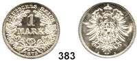R E I C H S M Ü N Z E N,Kleinmünzen  1 Mark 1875 A