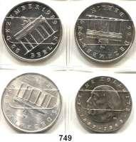Deutsche Demokratische Republik,L O T S      L O T S      L O T S  10 Mark  Kollwitz; 20 Mark  Brandenburger Tor Silber(3).  LOT 4 Stück.