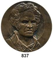 M E D A I L L E N,Personen Goya, Francisco de Bronzegußmedaille o.J. (Kalman Renner).  Brb. n. v. /  Motiv aus den