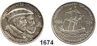 AUSLÄNDISCHE MÜNZEN,U S A  Gedenk Half Dollar 1924.  Huguenot - Walloon.  Schön 158.  KM 154.