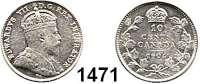AUSLÄNDISCHE MÜNZEN,Kanada Edward VII. 1901 - 1910 10 Cents 1904.  Schön 11.  KM 10.