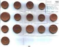 P O R Z E L L A N M Ü N Z E N,S T Ä D T E M Ü N Z E N L O T S      L O T S      L O T S Scheuch 99.a(2), 100.a, 104.a, 108.a, 110.a, 129.a, 130.a(2), 135.a(2), 157.a(2), 160.a und 163.a.  LOT 15 Stück.