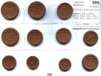 P O R Z E L L A N M Ü N Z E N,F I R M E N M Ü N Z E N L O T S      L O T S      L O T S Scheuch 283.a, 284.a, 297.a, 298.a, 302.a, 303.a, 305.a, 306.a, 308.a, 310.a und 311.a.  LOT 11 Stück.