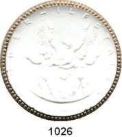 P O R Z E L L A N M Ü N Z E N,Spendenmünzen mit Talerbezeichnung Waldenburg Kinderhilfstaler o.J.(1922) weiß mit Goldrand.  Kinderhilfe.