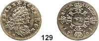 Deutsche Münzen und Medaillen,Preußen, Königreich Friedrich I. (1688) 1701 - 1713 6 Gröscher 1704 CG, Königsberg.  3,19 g.  v.S. 319.  Schön 10.