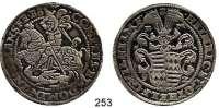 Deutsche Münzen und Medaillen,Mansfeld - Hinterort - Schraplau Heinrich II. und Gotthelf Wilhelm 1591 - 1594 Taler 1592 B-M.  28,78 g.  Dav. 9527.  Tornau 986 a.