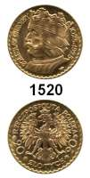 AUSLÄNDISCHE MÜNZEN,Polen Republik 1919 - 1939 20 Zlotych 1925 (5,8g fein).  Boleslaw.  Schön 15.  Y 33.  Fb.115.  GOLD