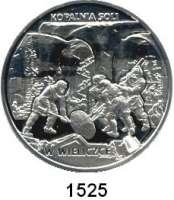 AUSLÄNDISCHE MÜNZEN,Polen  20 Zlotych 2001  Sehenswürdigkeiten in Polen - Salzbergwerk in Wieliczka (Groß-Salze).  Fischer K 023.  Schön 417.  Y 409.