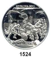 AUSLÄNDISCHE MÜNZEN,Polen Republik seit 1990 20 Zlotych 2001  Sehenswürdigkeiten in Polen - Salzbergwerk in Wieliczka (Groß-Salze).  Fischer K 023.  Schön 417.  Y 409.