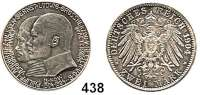 R E I C H S M Ü N Z E N,Hessen, Großherzogtum Ernst Ludwig 1892 - 1918 2 Mark 1904.  400. Geburtstag Philipp des Großmütigen.