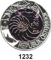 AUSLÄNDISCHE MÜNZEN,E U R O  -  P R Ä G U N G E N Österreich 25 Euro 2012 (Bi-Metall Silber/Niob).  Bionik.  Schön 393.  KM 3212.  Im Originaletui mit Zertifikat.