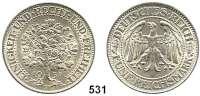 R E I C H S M Ü N Z E N,Weimarer Republik  5 Reichsmark 1931 F.  Eichbaum.