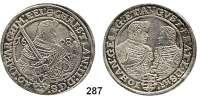 Deutsche Münzen und Medaillen,Sachsen Christian II., Johann Georg und August 1591 - 1611 Taler 1608, Dresden.  28,69 g.  Keilitz/Kahnt 228.  Dav. 7566.
