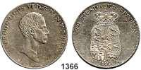 AUSLÄNDISCHE MÜNZEN,Dänemark Friedrich VI. 1808 - 1839 Rigsdaler Species 1839 F.-F.  Hede 26 D.  Sieg 30.4.  Kahnt/Schön 32.  KM 695.1.