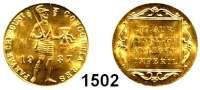 AUSLÄNDISCHE MÜNZEN,Niederlande Wilhelmina I. 1890 - 1948 Dukat 1937, Utrecht (3,43 g fein). Schulman 781.  Schön 1.4.  KM 83.1.  Fb. 352.  GOLD.