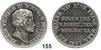 Deutsche Münzen und Medaillen,Preußen, Königreich Friedrich Wilhelm III. 1797 - 1840 Ausbeutetaler 1837 A, Berlin.  Kahnt 371.  Thun 251.  Jg. 63.  AKS 18.  Dav. 764.