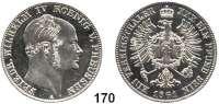 Deutsche Münzen und Medaillen,Preußen, Königreich Friedrich Wilhelm IV. 1840 - 1861 Taler 1861 A, Berlin.