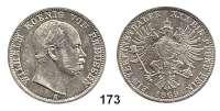 Deutsche Münzen und Medaillen,Preußen, Königreich Wilhelm I. 1861 - 1888 Vereinstaler 1869 A, Berlin.  Kahnt 388.  Thun 270.  Jg. 96.  AKS 99.  Dav. 782.