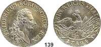 Deutsche Münzen und Medaillen,Preußen, Königreich Friedrich II. der Große 1740 - 1786 Taler 1784 A, Berlin.  22,04 g.  Kluge 123.   v.S. 470.  Old. 70.