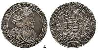 Römisch Deutsches Reich,Haus Habsburg Ferdinand III. 1637 - 1657 Taler 1653 K-B, Kremnitz.  28,51 g.  Herinek 486.  Voglh. 197.  Dav. 3198.