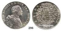 Deutsche Münzen und Medaillen,Sachsen Friedrich August III. 1763 - 1806 (1827) Taler 1766 EDC, Dresden.  27,99 g.  Kahnt 1072.  Dav. 2682.
