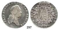 Deutsche Münzen und Medaillen,Sachsen Friedrich August III. 1763 - 1806 (1827) Taler 1775 EDC, Dresden.  27,97 g.  Kahnt 1074.  Dav. 2690.