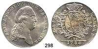 Deutsche Münzen und Medaillen,Sachsen Friedrich August III. 1763 - 1806 (1827) Taler 1784 IEC, Dresden.  28,02 g.  Kahnt 1081.  Dav. 2695.