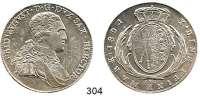 Deutsche Münzen und Medaillen,Sachsen Friedrich August III. 1763 - 1806 (1827) Konventionstaler 1804 IEC, Dresden.  Kahnt 411.  Thun 289.  Dav. 850.