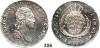 Deutsche Münzen und Medaillen,Sachsen Friedrich August I. (1763) 1806 - 1827 Konventionstaler 1813 SGH, Dresden.  Kahnt 416.  Thun 292.  AKS 12.  Jg. 12.  Dav. 854.