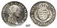 Deutsche Münzen und Medaillen,Sachsen Friedrich August I. (1763) 1806 - 1827 Konventionstaler 1815 IGS, Dresden.  Kahnt 417.  Thun 293.  AKS 12.  Jg. 22.   Dav. 854.