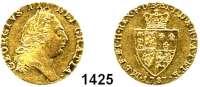 AUSLÄNDISCHE MÜNZEN,Großbritannien Georg III. 1760 - 1820 Guinea 1787.  8,34 g.  Spink 3729.  KM 609.  Fb. 356.  GOLD