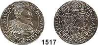 AUSLÄNDISCHE MÜNZEN,Polen Sigismund III. 1587 - 1632 VI Gröscher 1596, Marienburg.  4,76 g.  Gum. 1151.