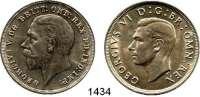 AUSLÄNDISCHE MÜNZEN,Großbritannien LOTS    LOTS    LOTS Crown 1935 und 1937.  Schön 320 und 344.  KM 842 und 857.  LOT 2 Stück.