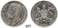 Deutsche Münzen und Medaillen,Württemberg, Königreich Wilhelm I. 1816 - 1864 Vereinstaler 1860.  Kahnt 588.  Thun 439.  Jg. 83.  AKS 77.