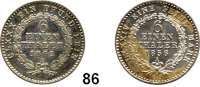 Deutsche Münzen und Medaillen,Anhalt - Bernburg Alexander Karl 1834 - 1863 1/6 Taler 1856 A und 1862 A.  AKS 18 und 19.  Jg. 65 und 71.  LOT 2 Stück.