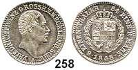 Deutsche Münzen und Medaillen,Mecklenburg - Schwerin Friedrich Franz II. 1842 - 1883 1/6 Taler 1848.  AKS 40.  Jg. 54.