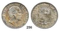 Deutsche Münzen und Medaillen,Mecklenburg - Schwerin Friedrich Franz II. 1842 - 1883 Taler 1848 A (sogenannter Angsttaler).  Kahnt 292.  Thun 214.  AKS 37.  Jg. 55.  Dav. 727.