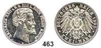 R E I C H S M Ü N Z E N,Reuss älterer Linie (Greiz) Heinrich XXII. 1859 - 1902 2 Mark 1892.  Regierungsjubiläum.