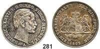 Deutsche Münzen und Medaillen,Reuß Jüngerer Linie (Schleiz) Heinrich LXVII. 1854 - 1867 Vereinstaler 1862 A.  Kahnt 408.  Thun 287.  AKS 36.  Jg. 133.  Dav. 802.