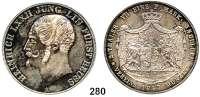 Deutsche Münzen und Medaillen,Reuß Jüngerer Linie (Ebersdorf) Heinrich LXII. 1822 - 1848 Doppeltaler 1847 A.  Kahnt 404.  Thun 283.  AKS 56.  Jg. 103.  Dav. 805.
