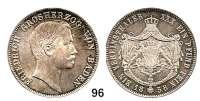 Deutsche Münzen und Medaillen,Baden - Durlach Friedrich I. (1852) 1856 - 1907 Vereinstaler 1858.  Kahnt 36.  Thun 30.  AKS 123.  Jg. 79.  Dav. 530.