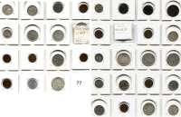 Österreich - Ungarn,Habsburg - Lothringen LOTS       LOTS       LOTS LOT von 35 Münzen.  Darunter 17 Silbermünzen.  Meist Franz Josef I. und Republik.  Darunter Gulden 1877, 1886, 1890.