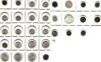 Österreich - Ungarn,Habsburg - Lothringen LOTS       LOTS       LOTS LOT von 31 Münzen zwischen 1885 und 1974.  Darunter 17 Silbermünzen.